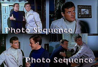 THE SAINT Roger Moore William Gaunt PHOTO Sequence #01