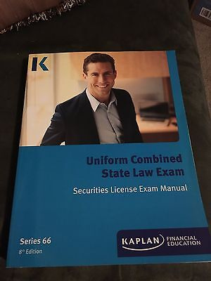kaplan series 66 uniform combined state law exam - $50.00 | picclick