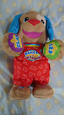 Fisher-Price Talking Dog New With Out Original Box Torn By Customers