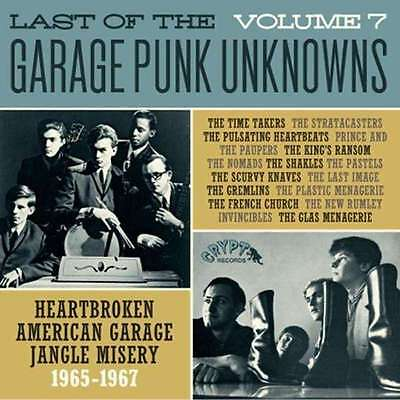 Various/Garage Punk Unknowns The Last Of..Vol.7 NEW OVP Crypt Vinyl LP