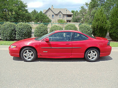 1998 Pontiac Grand Prix GTP Coupe 2-Door Pontiac Grand Prix GTP Coupe; Red; Good Condition; Rare Find; Loaded