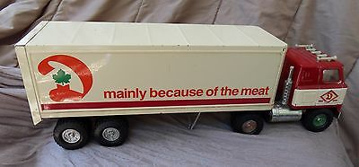 Canadian Dominion Store Semi -Transport Toy Truck Ertl Nice Shape