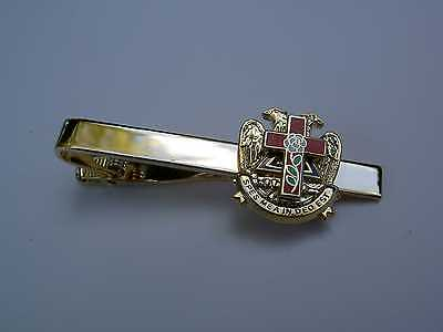 Tie Clip / Bar Masonic ~ Rose Croix ~ Cross Beautiful Multi-tier