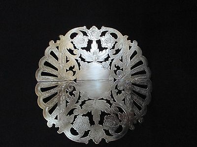 Vintage Silver Wallace Expandable Footed Trivet 7332