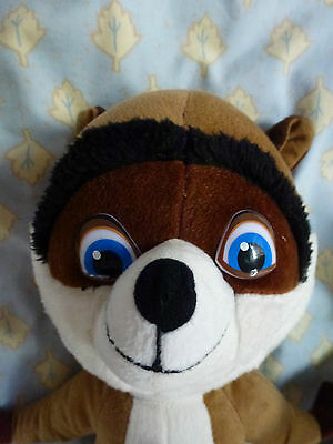 R J Raccoon From The Dreamworks Film Over The Edge Soft Toy
