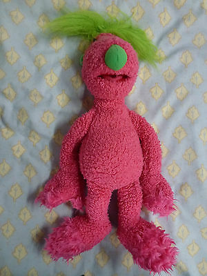 Hoobs Made By Tomy By Jim Henson Soft Toy Makes Sounds Pink