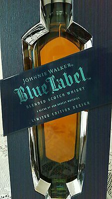 Johnnie Walker Blue Label! Rare Christmas Edition!! Travel  Exclusive 1 Litre!!