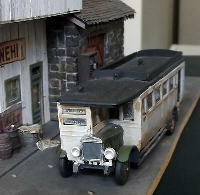 Ho/oo Scale 1920S/50S Bus Built, Very Weathered