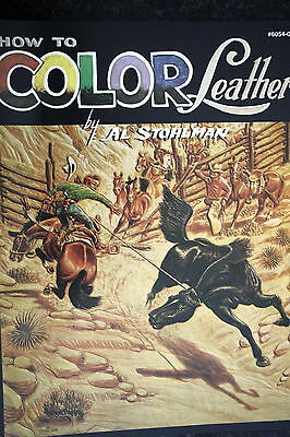 How  To  Color  Leather / Leatherctaft