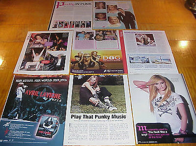 Avril Lavigne Clippings #112616
