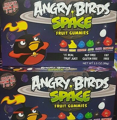 2 x ANGRY BIRDS Gummies 99g each box