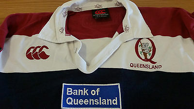 Vintage Rare Canterbury Australia Queensland Reds Rugby Jersey