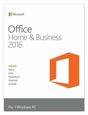 Microsoft Office 2016 for Mac (HOME AND BUSINESS)