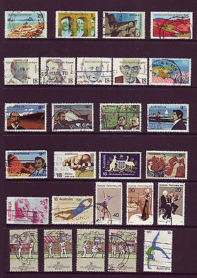 Assorted Used Stamps from  1976,  1977.  Well worth a look .