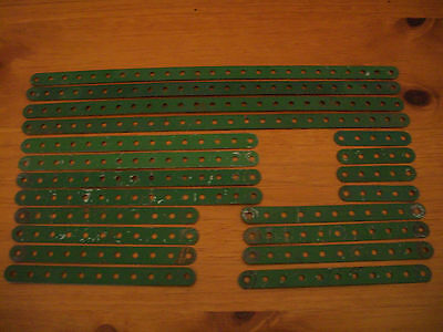 Ezy - Bilt Lot of 20 Perforated Strips. In Used Condition  with Wear. SEE PHOTOS