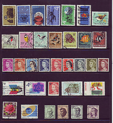 Assorted Used Stamps from 1966, 1967, 1968.  Well worth a look .