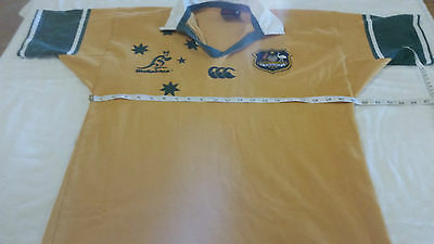 Vintage Canterbury Australia Wallabies Rugby Jersey