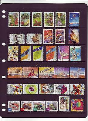 Assorted Used Stamps from 2000 and 2001.  Well worth a look .