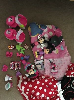 Minnie Mouse Toys, Roller Skates, Bedding, Towel And Fancy Dress