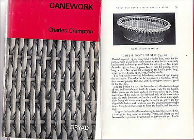 Canework Instructions For Making Twenty Seven Articles By Charles Crampton 1972