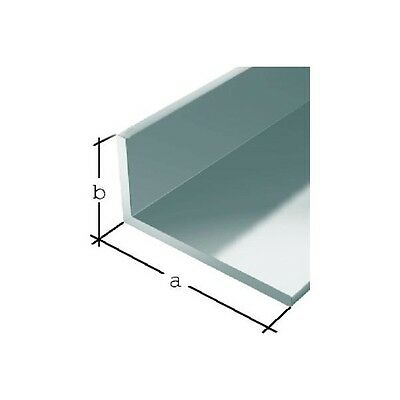 Aluminium Extruded Angle- Various Size- Lenght 2000 mm