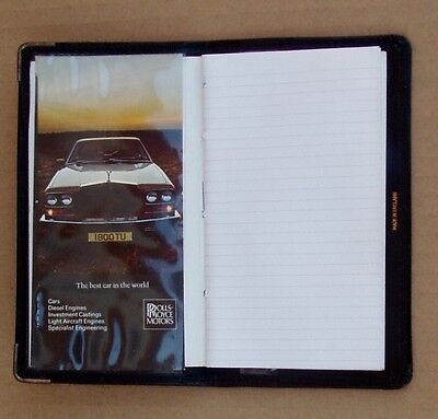 Rolls Royce Badge Hide Leather Wallet And Note Book Etc, Genuine Rr Product