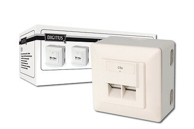 Digitus Modular Wall Outlet CAT5e