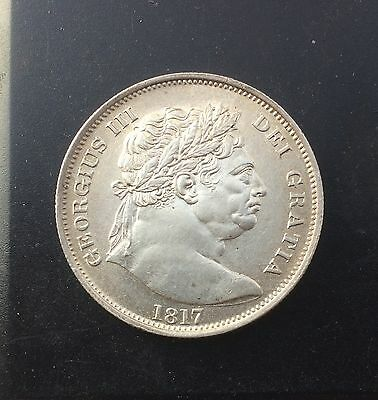 Practically Mint State George 3rd Halfcrown Dated 1817