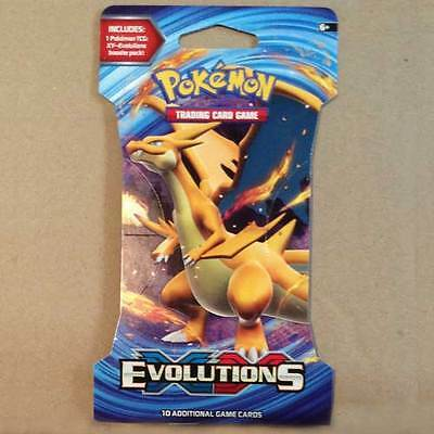 POKEMON TCG XY Evolutions Blister x 1 Packet NEW trading card game 10 cards