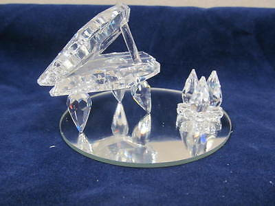 "Full Lead Crystal Asfour Crystal ""Piano"" Ornament"