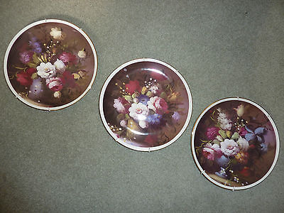 Peter Stanier Plates/Plaques x3, still life
