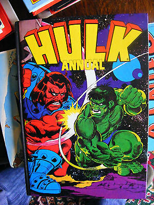THE HULK ANNUAL 1981 from Marvel Comics. VGC