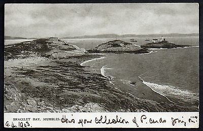 Bracelet Bay, Mumbles. Used 1903.