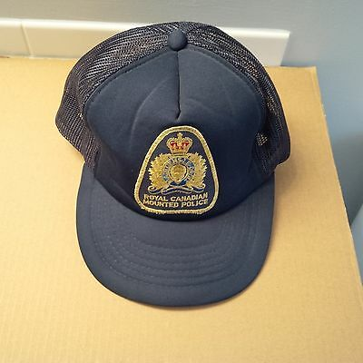 Ball Cap Hat - Police - Royal Canadian Mounted Police Canada