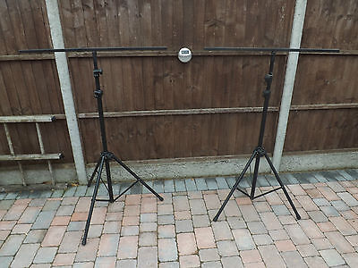 Professional Heavy Duty T Bar Lighting Stands for  DJ Disco Light
