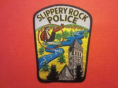 Collectible Pennsylvania Police Patch Slippery Rock New