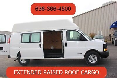 2006 Chevrolet Express Work Van 2006 Work Van Used 6.0 V8 Extended Raised Roof Cargo Freight Delivery High Top