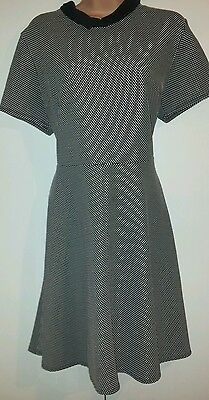 """""""dorothy Perkins"""" Warm Stylish Fit And Flare Dress Size 18"""
