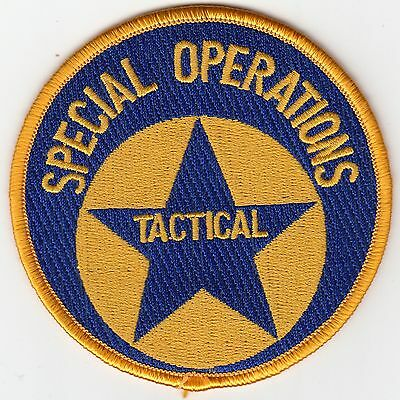 New Orleans Police Special Operations Tactical Patch Louisiana La