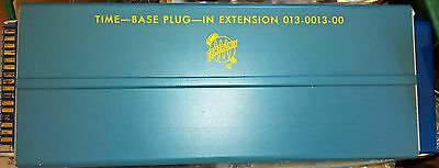 Tektronix 013-0013-00 Time Base Plug In Extension for Oscilloscopes