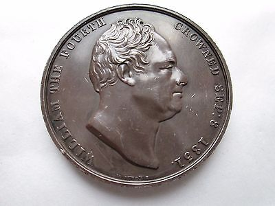 William 1V 1831 Coronation Medal By Wyon