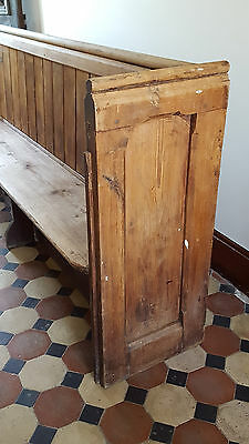 Old Pine Church Pew 2.8m long approx.