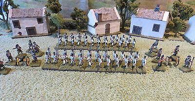 60 x 1/72 scale Austrian Napoleonic Infantry and Artillery