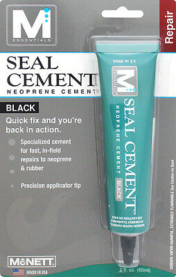 Seal Cement,  Wetsuit Repair-McNett, contact cement for repairs 2oz.