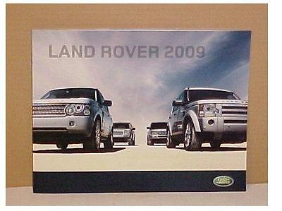 2009 Land Rover New Premier Full Line Brochure Free Shipping