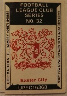 UPEC Matches Football League Clubs #32 Exeter City