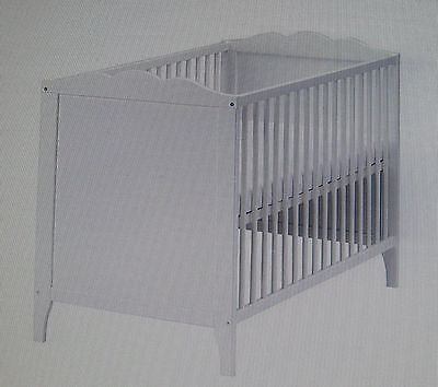 Ikea Hensvik Baby Cot And Mattress White Nursery Furniture Pick Up