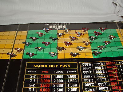 Custom 28 Piece Token Parts Vintage Apba Saddle Horse Racing Game Secretariat