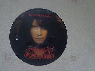 No More Tears Picture Disc 12 Inch  Ozzy Osbourne