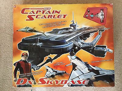 Gerry Anderson's New Captain Scarlet DX Sky Base - sealed, mint condition!